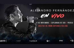 Alejandro Fernández: En Vivo