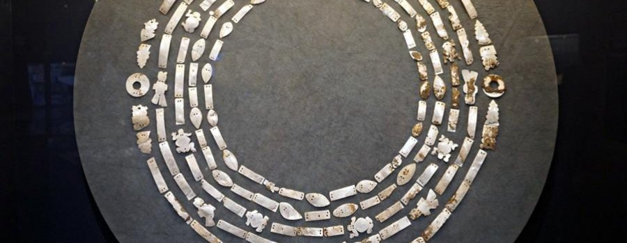 Vestimentas enconchadas en el México Prehispánico