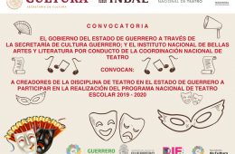 Programa Nacional de Teatro Escolar 2019-2020