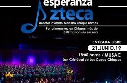 Concierto Monumental de la Orquesta y Coro Esperanza Azte...