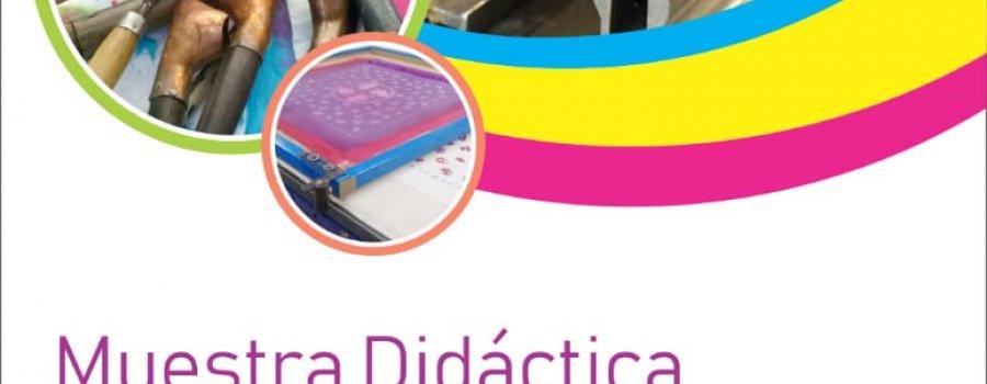 MUESTRA DIDÁCTICA DE ESTAMPADO