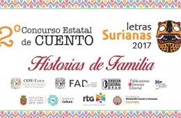 Concurso Estatal de Cuento Letras Surianas 2017