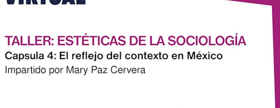 Estéticas de la sociología, sesión 4: El reflejo del contexto en México