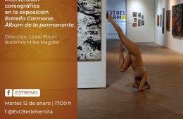 Memoria de la intervención coreográfica en la exposici�...