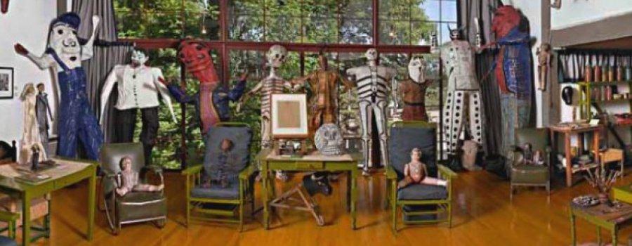Estudio del pintor Diego Rivera