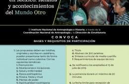 Convocatoria 3er Encuentro Etnohistoria y antropología d...