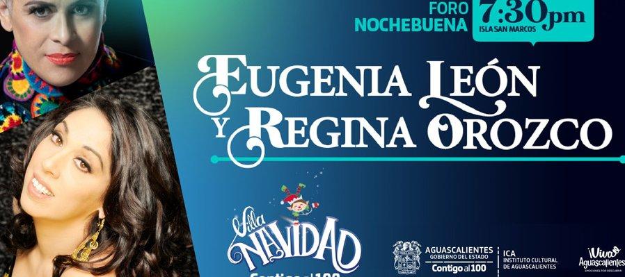 Eugenia León y Regina Orozco
