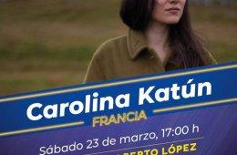 Eurojazz: Carolina Katún (Francia)