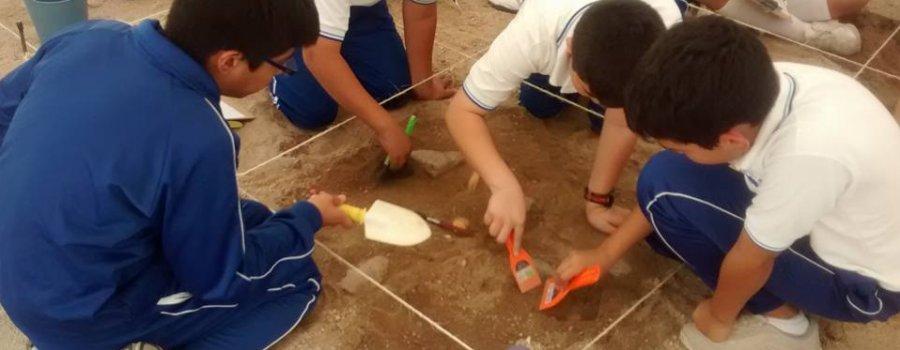 Taller de excavación arqueológica