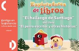 El hallazgo de Santiago del libro El perro escritor y otr...