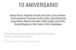 10 Aniversario de Galería ETHRA