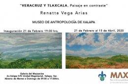 Exposición pictórica Veracruz y Tlaxcala, Paisajes en C...