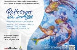 """Exposición """"Reflexiones sobre el agua"""""""