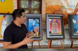 Exposición de la obra pictórica