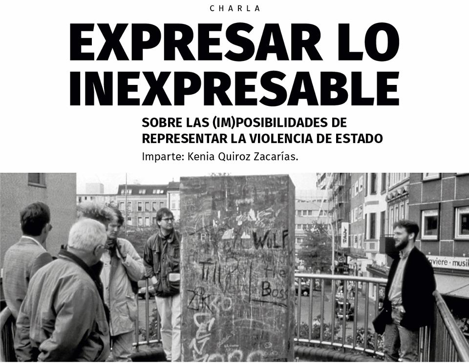 Expresar lo inexpresable: sobre las (im)posibilidades de ...