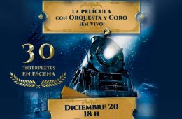 The polar Express with Live Orchestra