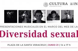 Música en el marco del Mes de la Diversidad Sexual