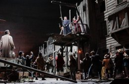 Live from the Met in New York. La Fanciulla del West