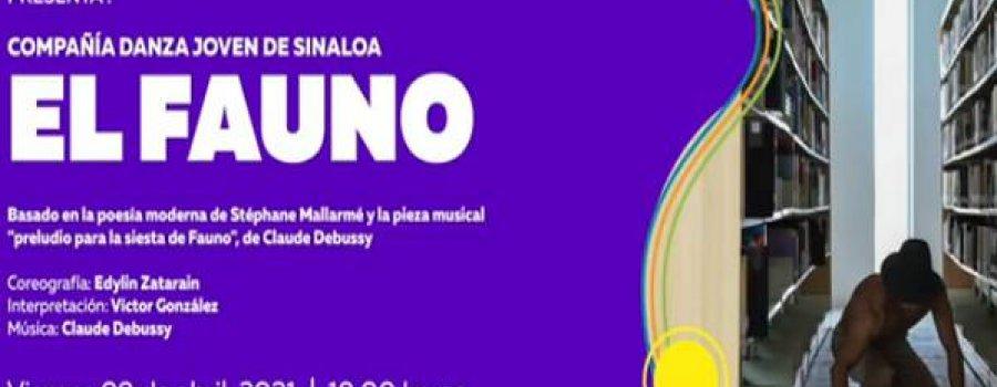 El Fauno con la Compañía de Danza Joven de Sinaloa
