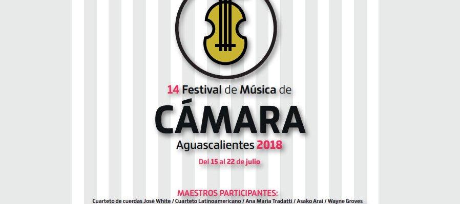 Convocatoria para el Festival de Música de Cámara 2018