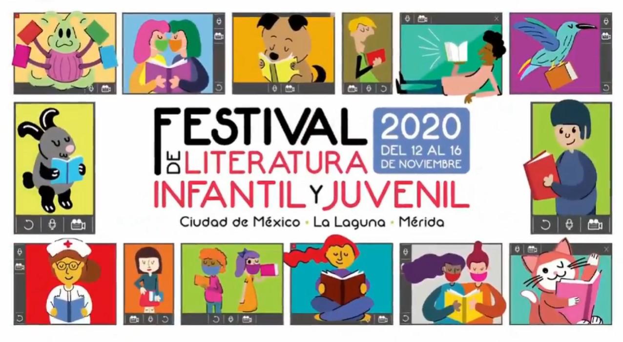 Inauguración del  Festival de Literatura Infantil y Juvenil. Participa: Paco Ignacio Taibo II y Marilina Barona del Valle