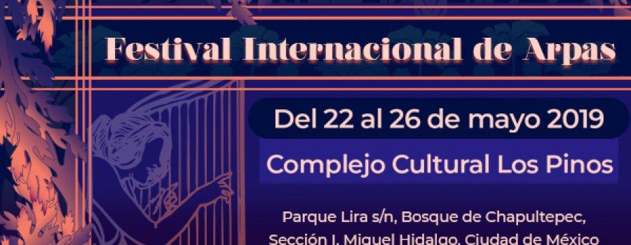 Festival Internacional de Arpas l Recitales de arpa tradicional y de concierto