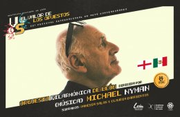 Orquesta sinfónica de León dirigida por Michael Nyman