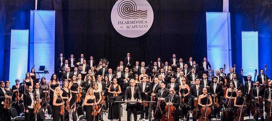 Orquesta Filarmónica de Acapulco con Horacio Franco y Jorge Federico Osorio