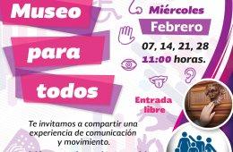 Museo para todos - Febrero