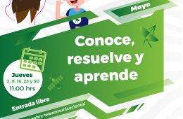 Conoce, resuelve y aprende - Mayo 2019