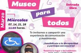 Museo para todos - Marzo