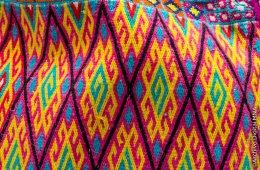 Telar de cintura y bordado