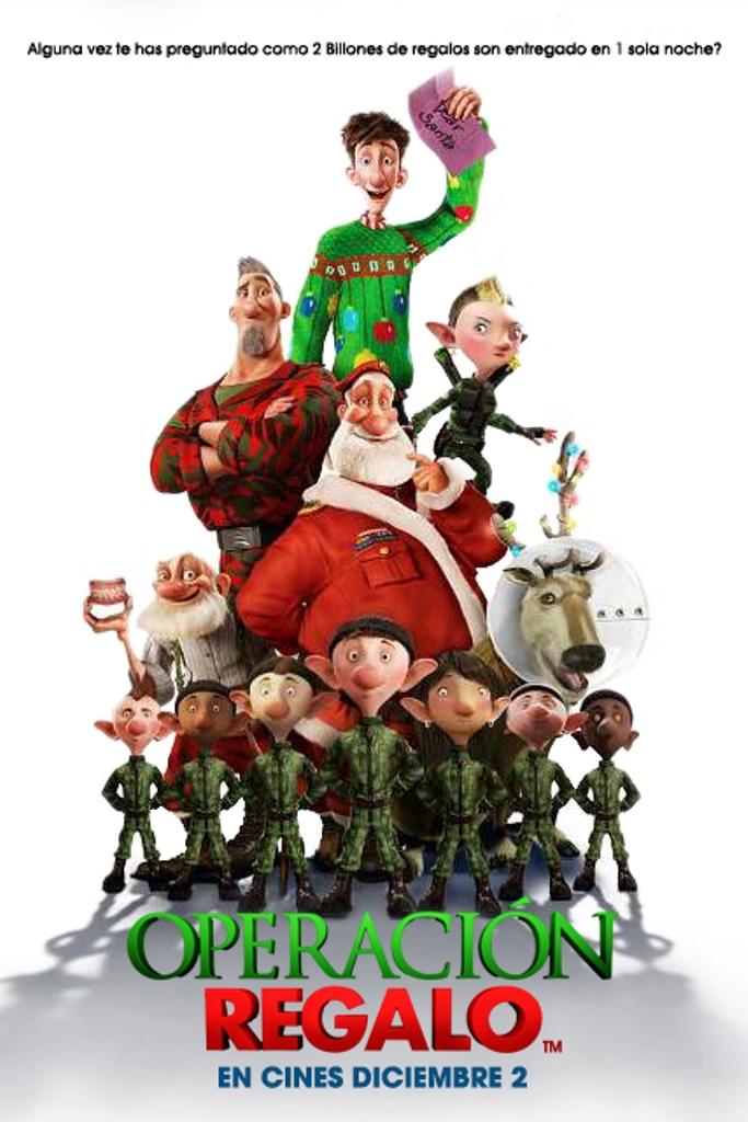 Arthur Christmas Poster.Arthur Christmas