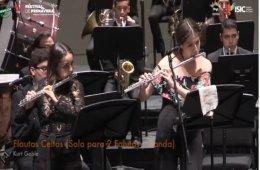 Flautas celtas, con la Banda Sinfónica Juvenil del Estad...