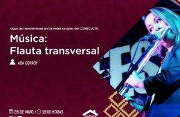Flauta transversal con Ada Corroy