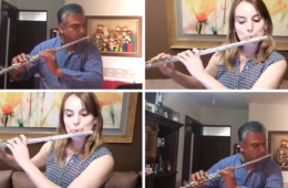Tico Tico a 4 Flautas