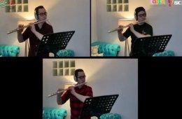 Trío de flautas