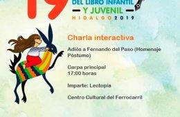 Charla interactiva: Adiós a Fernado del Paso (Homenaje P...