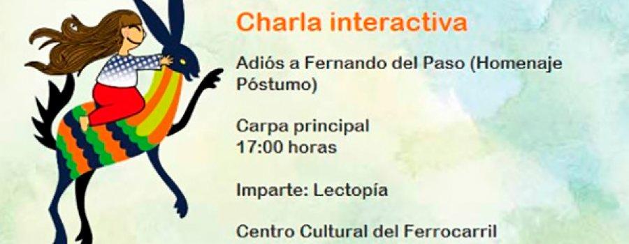 Interactive: Farewell to Fernando del Paso (Posthumous Tribute)