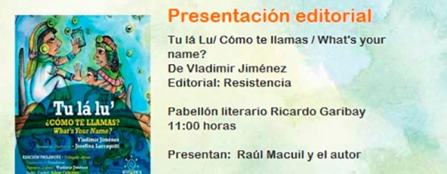 Book Presentation: Tu lá Lu | What´s Your Name?