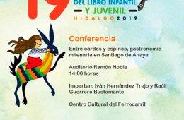Conferencia: Entre cardos y espinos, gastronomía milenar...