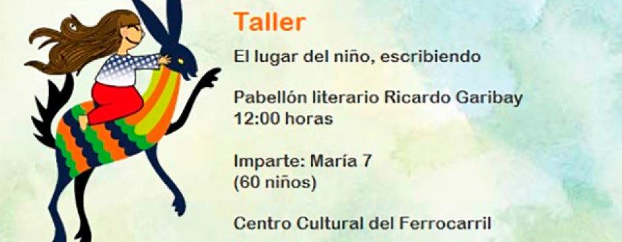 Taller: El lugar del niño, escribiendo