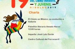 Charla: El Cómic en México, su evolución e historia