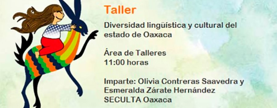 Workshop: Linguistic and Cultural Diversity of the State of Oaxaca