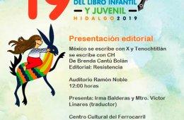 Presentación editorial: México se escribe con X y Tenoc...