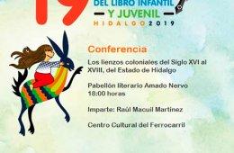 Conferencia: Los lienzos coloniales del Siglo XVI al XVII...