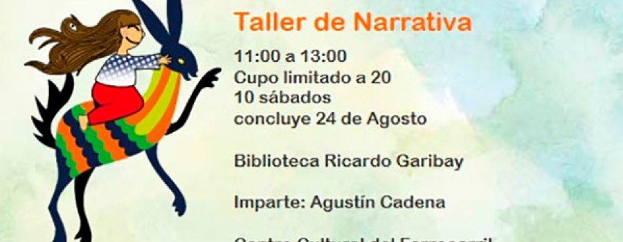 Narrative Workshop at Ricardo Garibay Library
