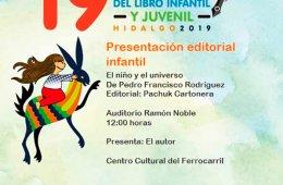 Presentación editorial infantil: El niño y el universo