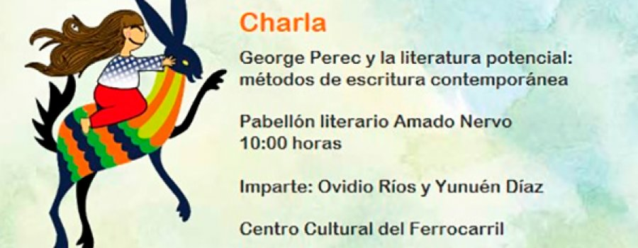 Talk: George Perec and Potential Literature: Contemporary Writing Methods