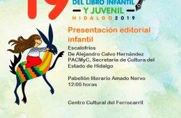 Presentación editorial infantil: Escalofríos